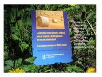 Książka Logistyczne uwarunkowania produkcji energii cieplnej z wykorzystaniem surowców odnawialnych
